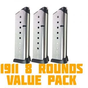 1911 bundle 8 round magazines