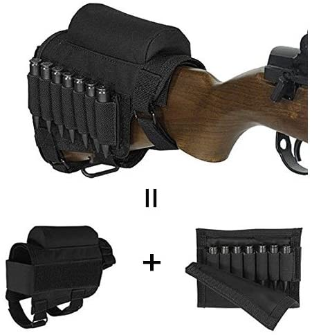 Rifle stock organizer
